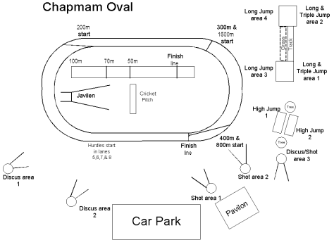 Chapman oval Layout
