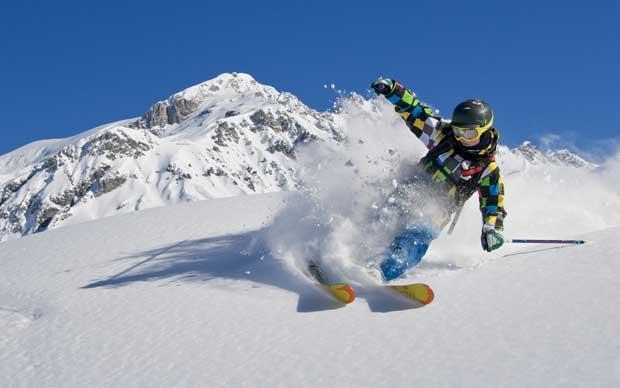 When should children start ski racing?