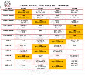 26 November Program